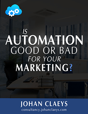 ebook cover: Is Automation Good Or Bad For Your Marketing