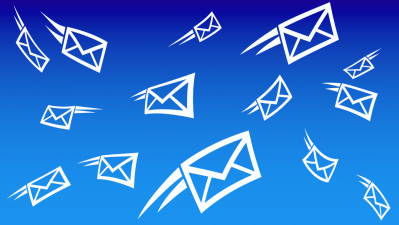 How do businesses collect emails