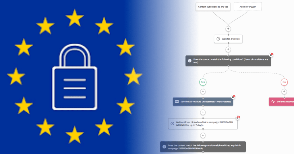 Email marketing watch out GDPR