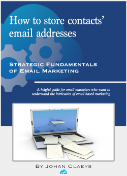 Ebook over: How To Store Contacts' Email Addresses