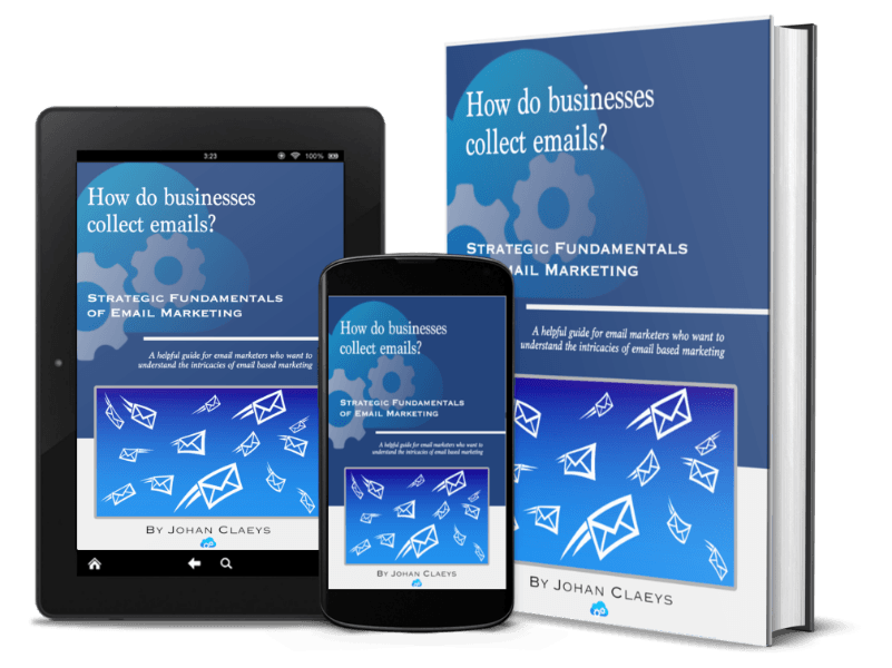 How do businesses collect emails (composite)