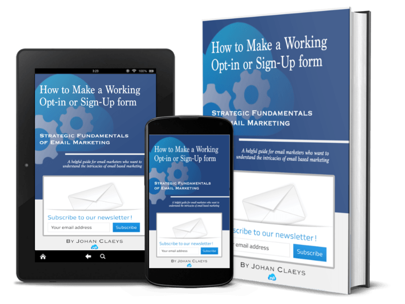 How to make a working opt-in or sign-up form (composite)