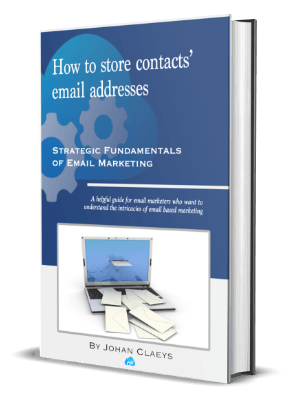 How to store contacts' email addresses (cover)